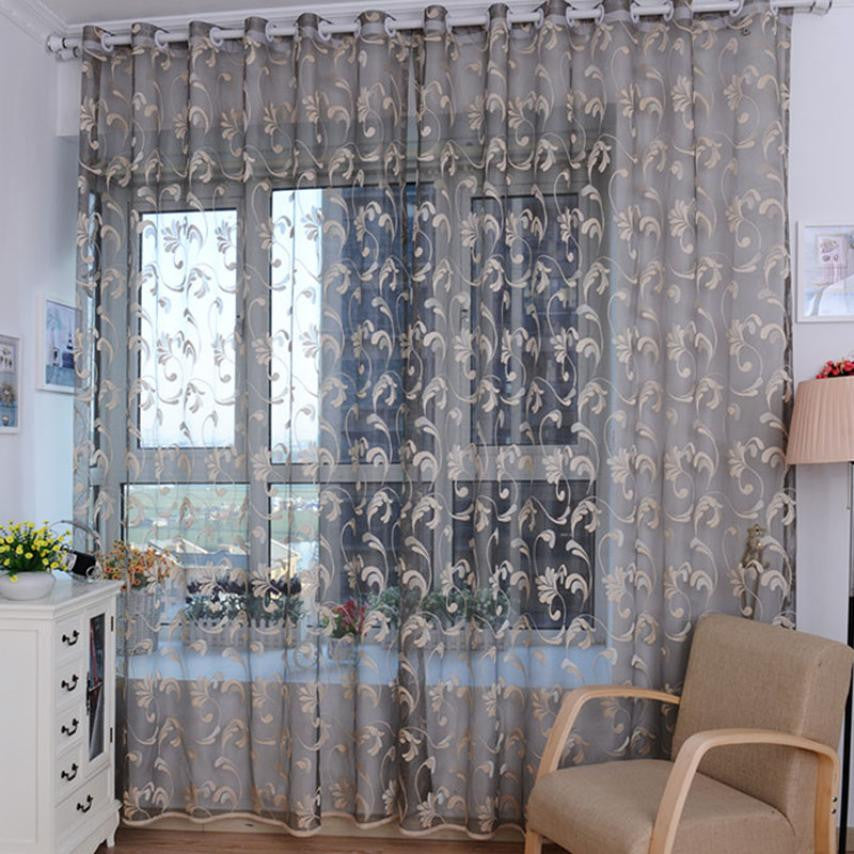 Fashion Tulle Window Curtain