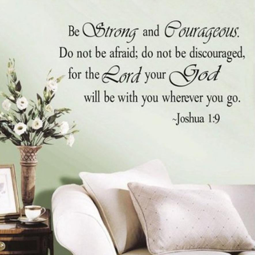 Biblical Quote Wall Sticker