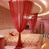 Romantic Style Bedroom Curtain