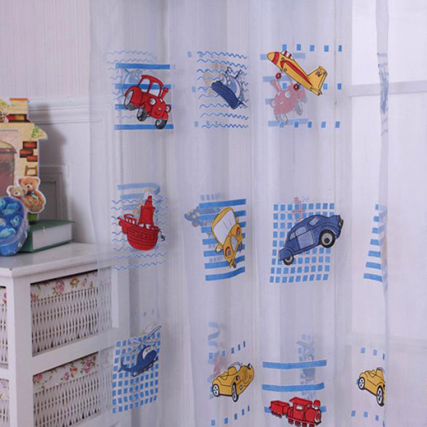 Child Car Tulle Window Curtain