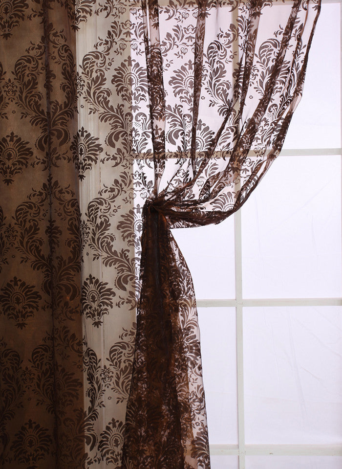 Classical Style Tulle Window Curtain