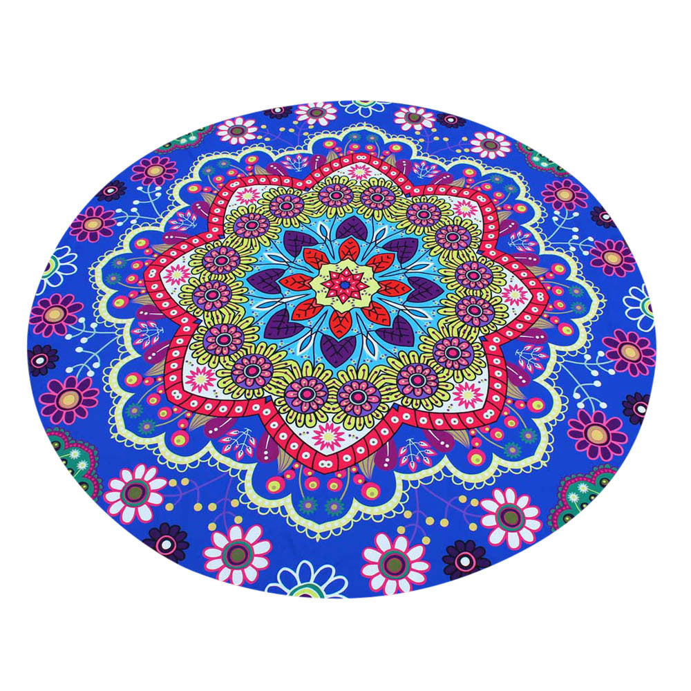 Lotus Hippie Round Tapestry