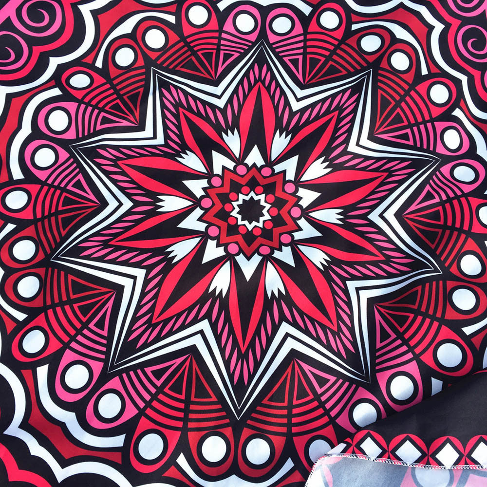 Round Printing Hippie Tapestry