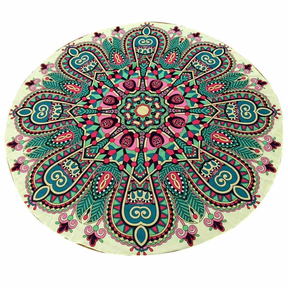 Green Hippie Chiffon Tapestry