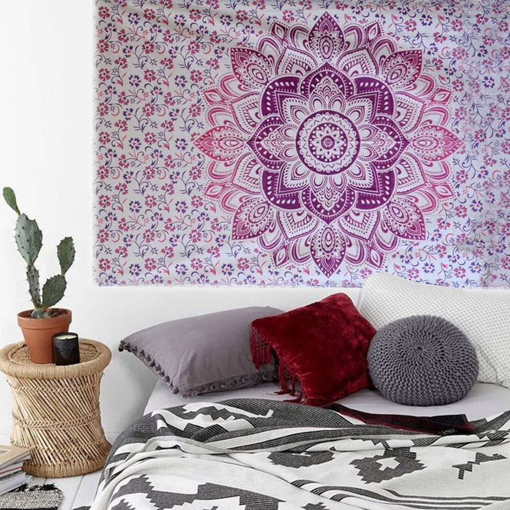 Bohemian Square Wall Hanging Tapestry