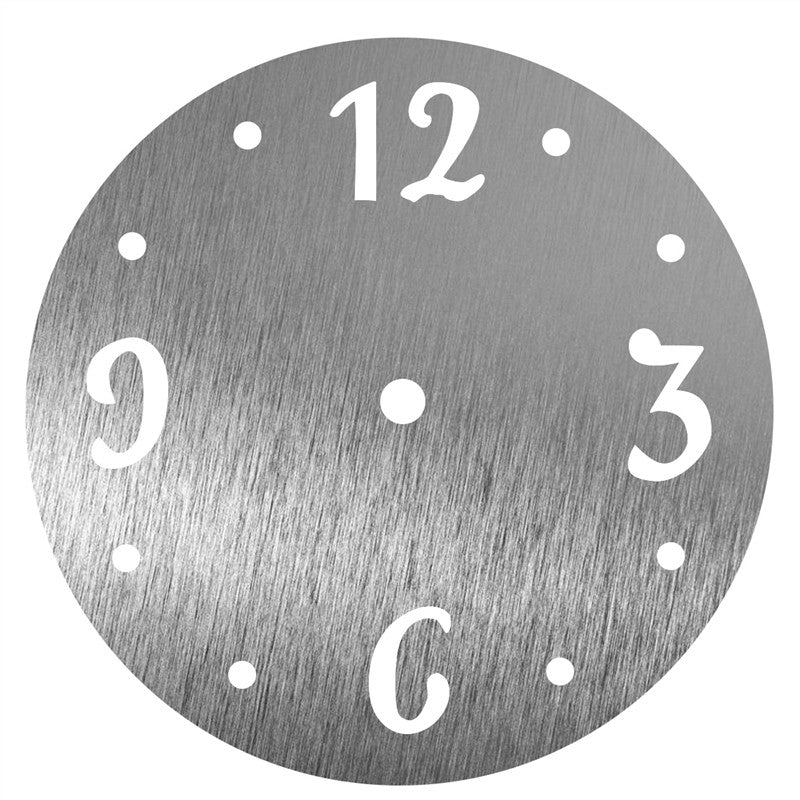 DIY Acrylic Mirror Wall Clock