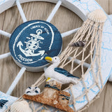 Nautical Wooden Wheel