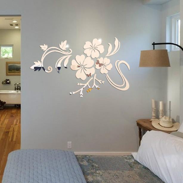 3D Mirror Vinyl Wall Sticker