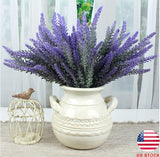 4 Pcs Artificial Lavender Bouquet