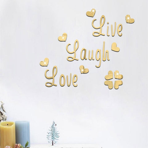 Live Laugh Love Quote Wall Art