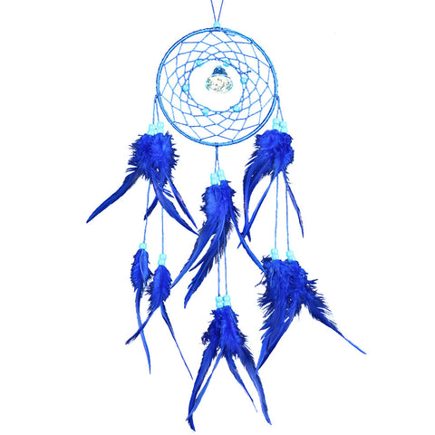 Purple Dream Catcher Wall Hanging