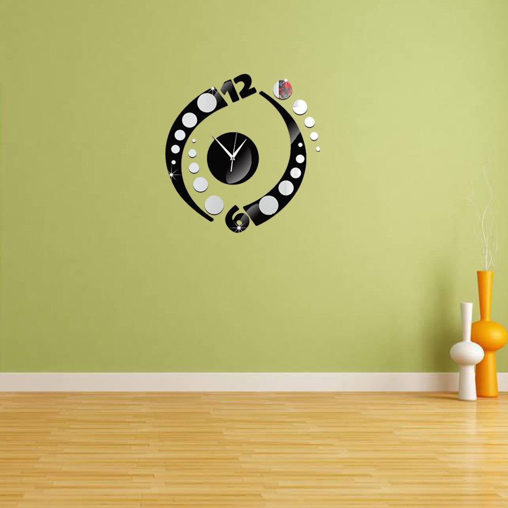 Modern 3D Frameless Clock