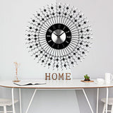 Black Diamonds Wall Clock