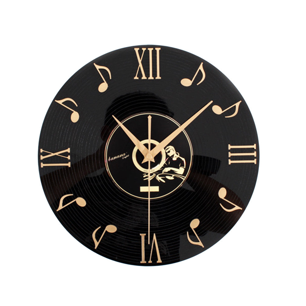 3D Vinyl Record Wall Clock