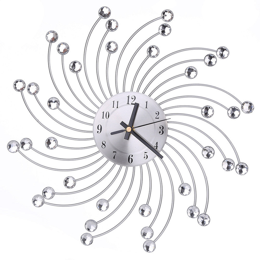 Crystal Modern Wall Clock