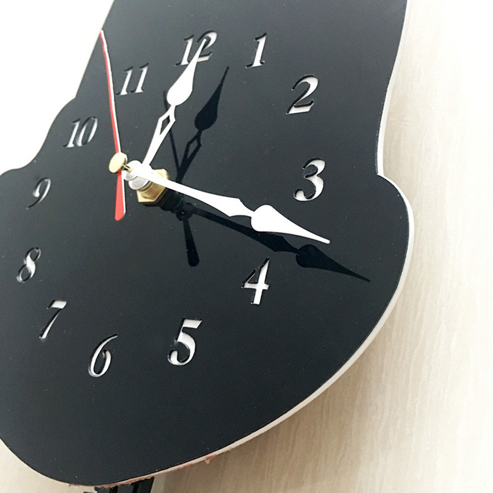 Cute Dog Acrylic Wall Clock