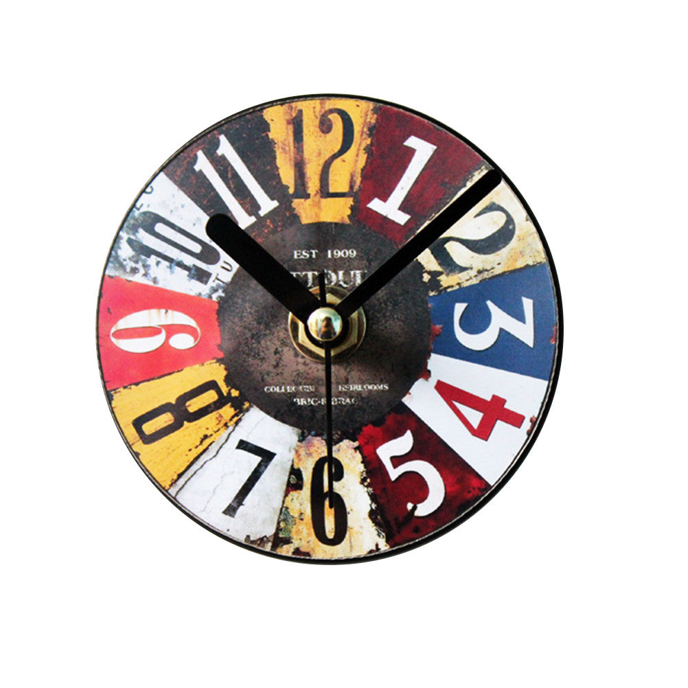 Retro Creative Wall Clock