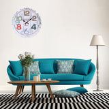 Vintage Style Silent Wall Clock