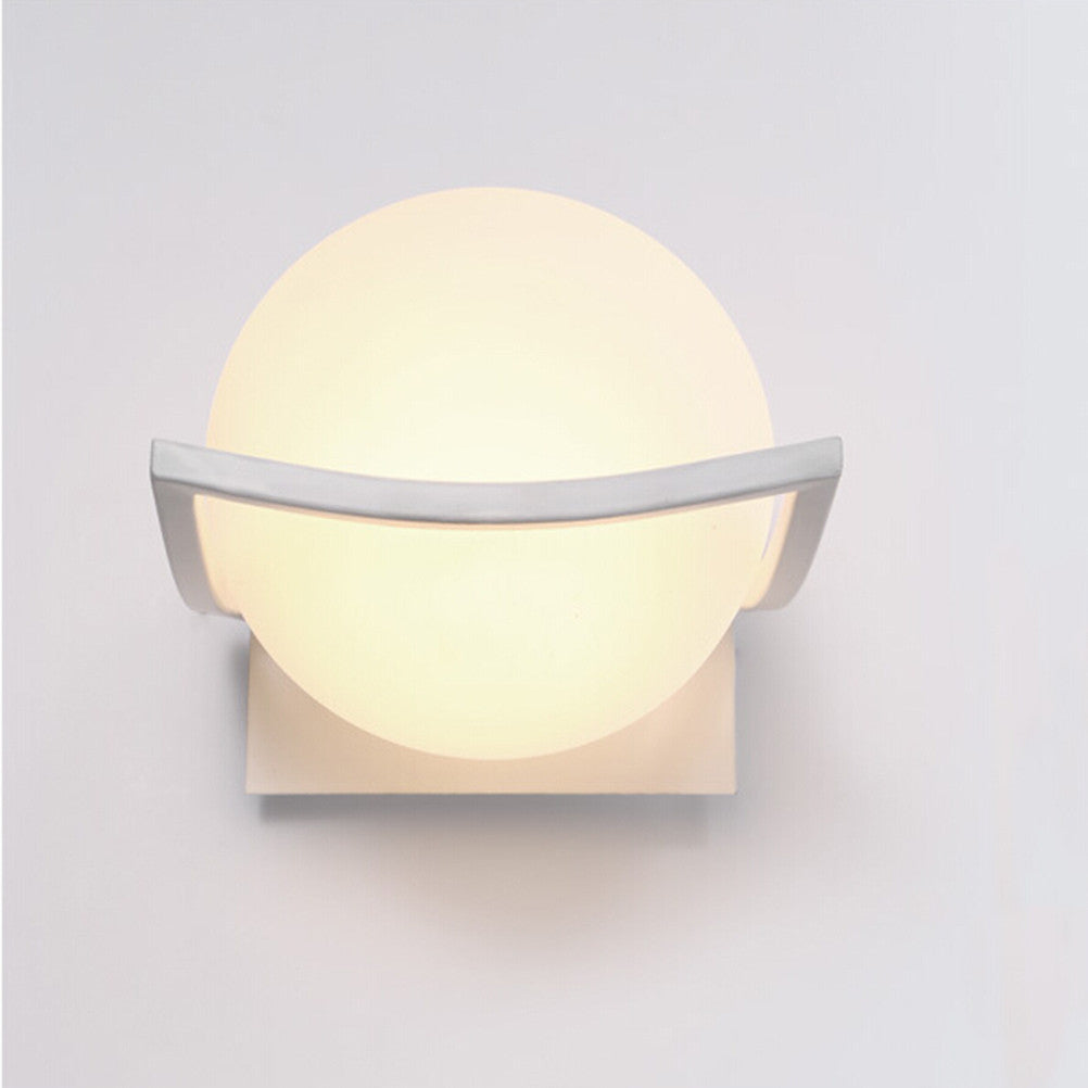 Glass Ball LED Wall Lamp
