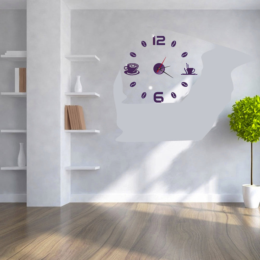 Acrylic Modern DIY Wall Clock