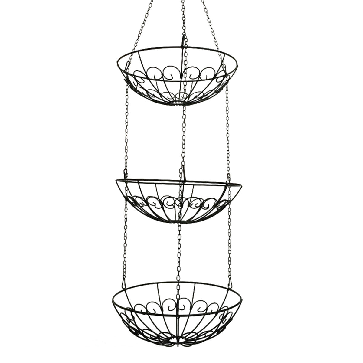 Iron Hanging Storage Basket