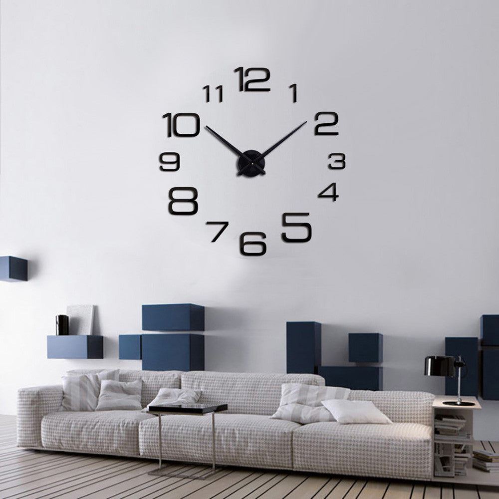 Creative Digital DIY Wall Clock