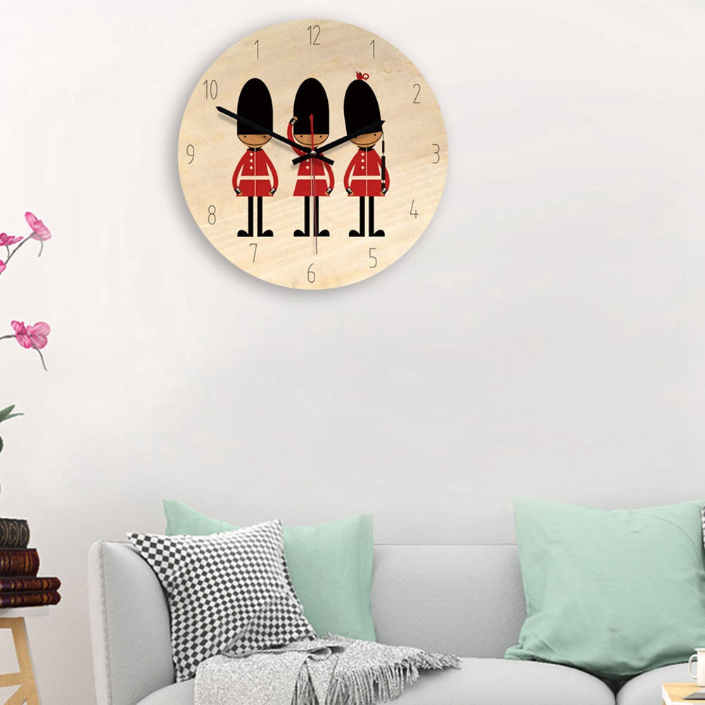 Nordic Style Silent Wall Clock