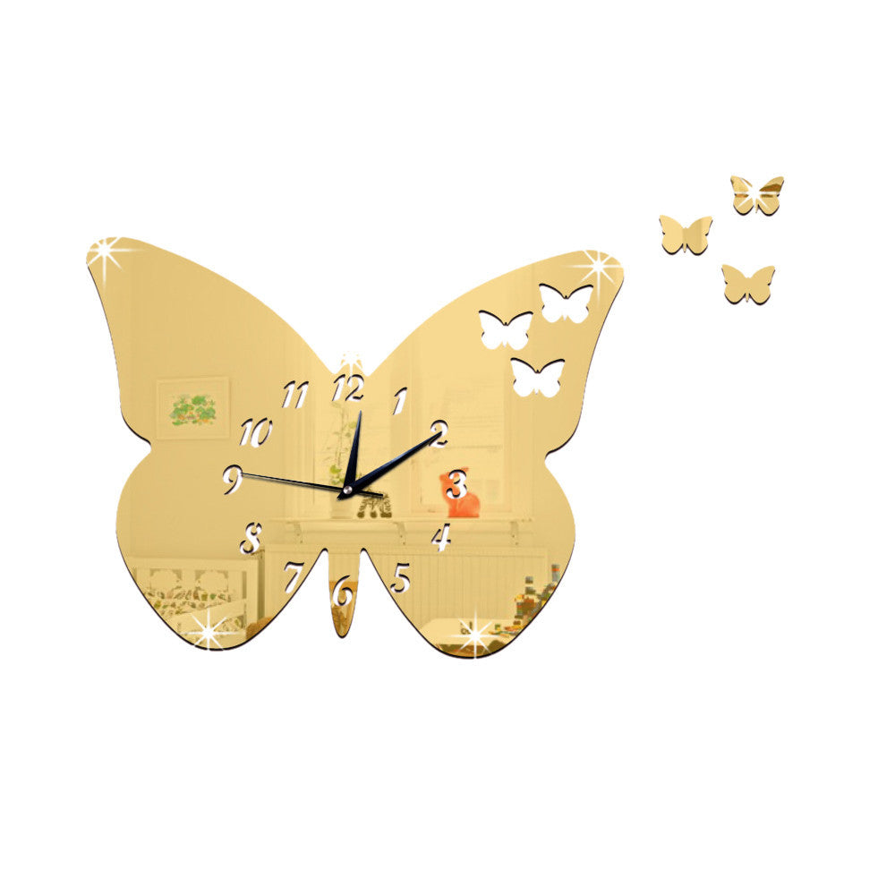 Acrylic Butterfly Mirror Wall Sticker