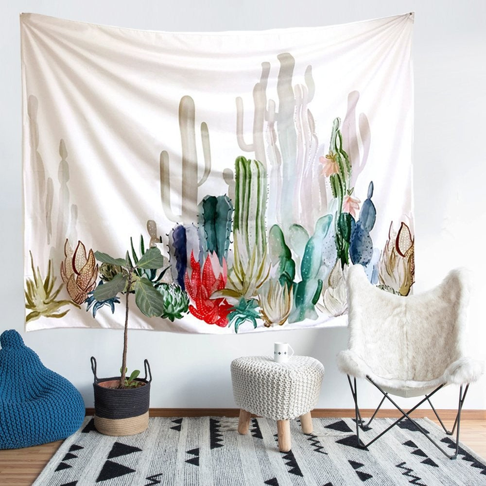 Cactus Wall Hanging Tapestry