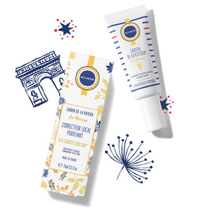 Correcteur local purifiant ecosecret et packaging