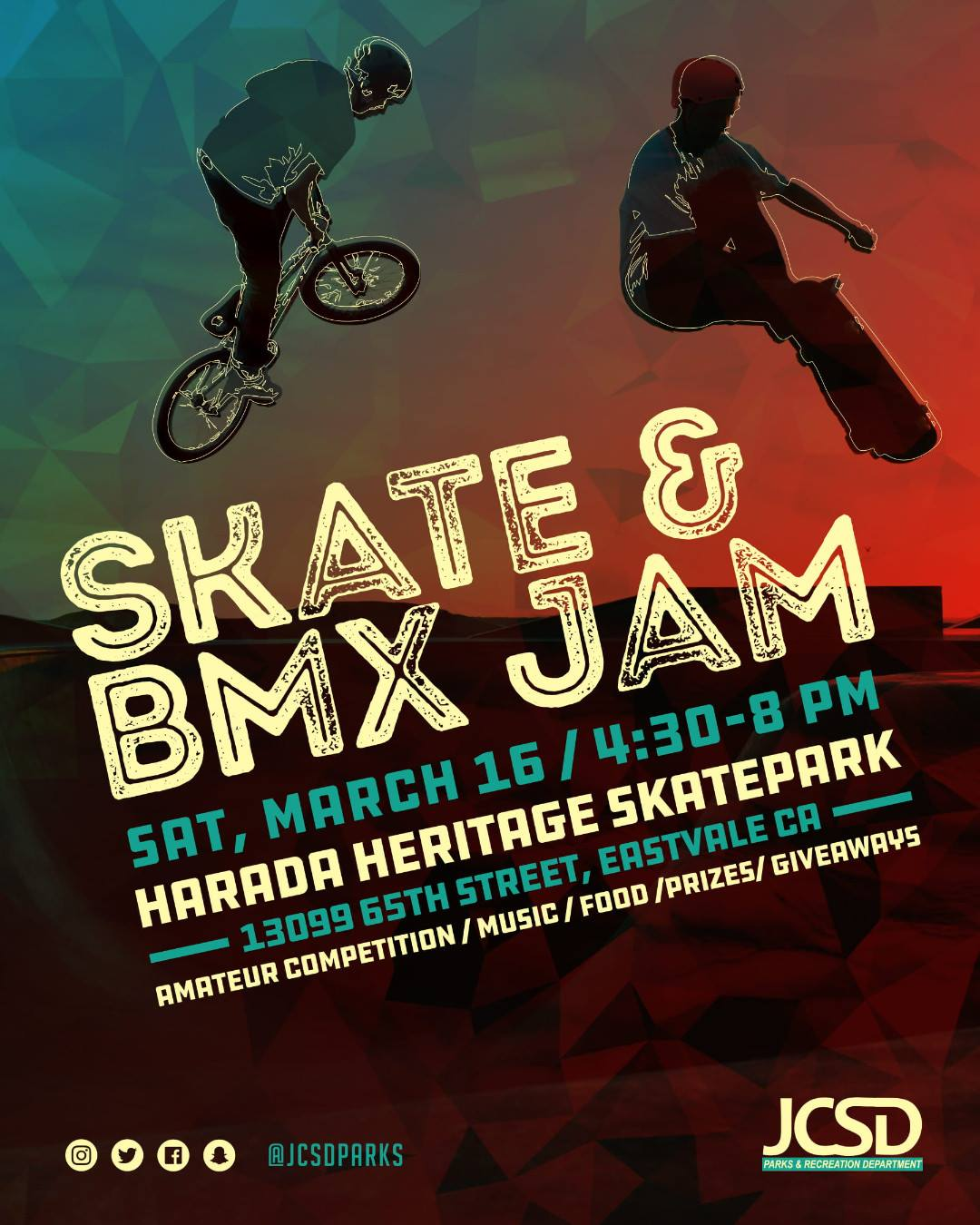 Herada Skatepark Jam Saturday the 16th 2019