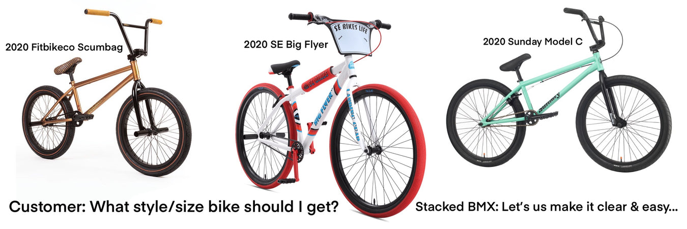What bike should I buy? We recommend picking a bike to match your needs and we can help you figure it out with ease
