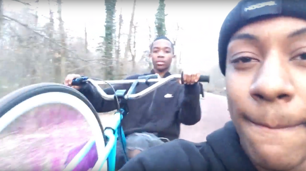 Watch Quadir and his homies go on an adventure