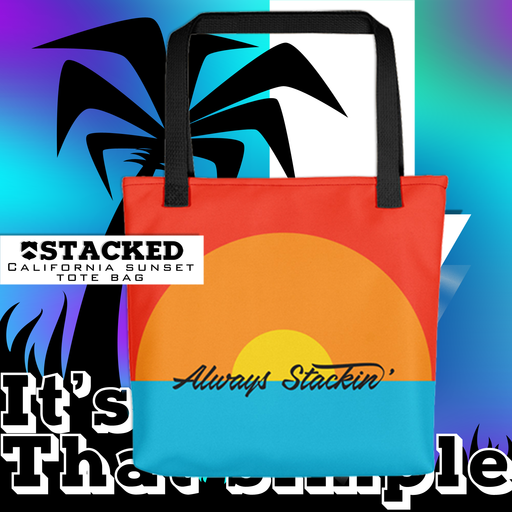 Stacked - 2019 California sunset Tote bag