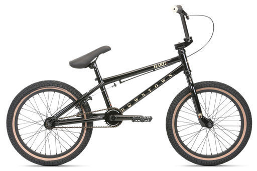 "2020 Haro Downtown 18"" complete bike Gloss Black"