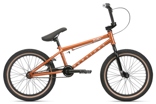 "2020 Haro Downtown 18"" complete bike Copper"
