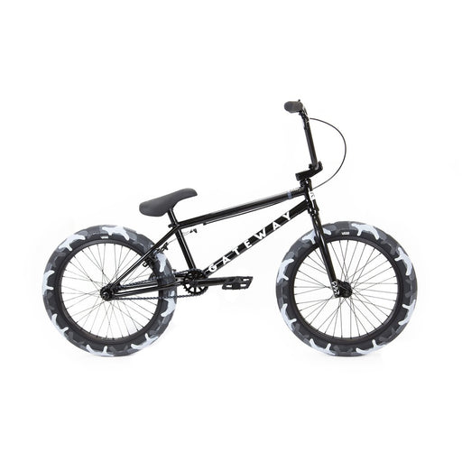 "2020 Cult 20.5"" Gateway complete bike - Black/grey Camo"