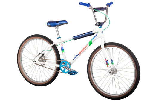 "2021 Haro Freestyler Bob Haro 26"" complete bike Gloss White/Chrome"
