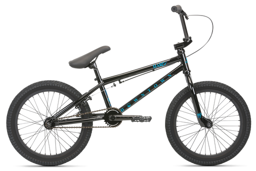 "2021 Haro Downtown 18"" complete bike Gloss Black"