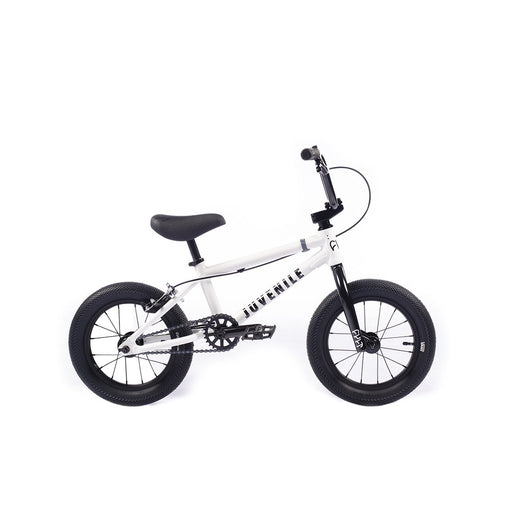 "2021 Cult 14"" Juvenile complete bike White"