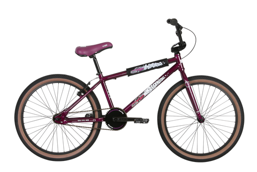 "2021 Haro Sloride 24"" complete bike Gloss Purple"