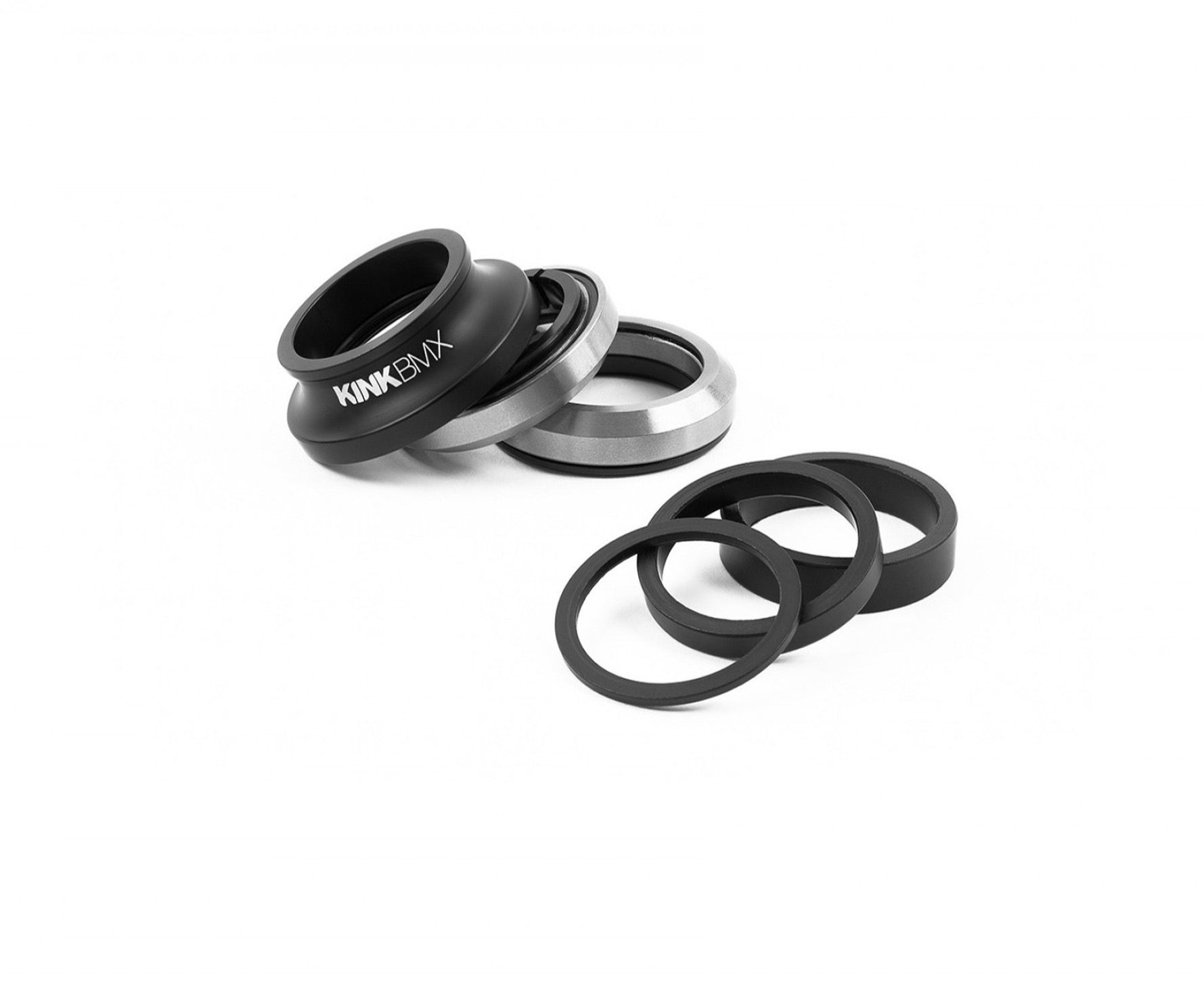 """KINK BIKES V2 INTEGRATED 1-1//8/"""" MATTE SONIC BLUE BICYCLE HEADSET"""