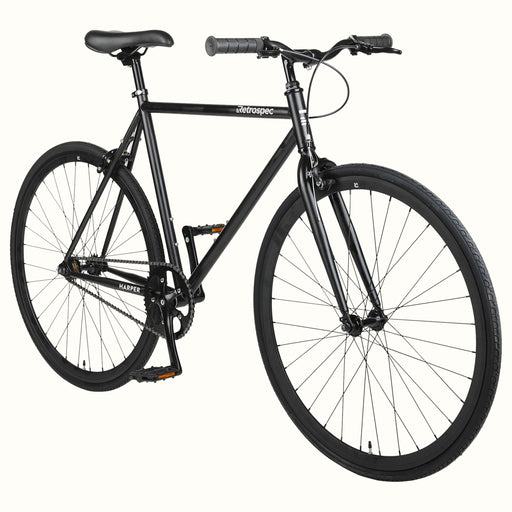 2021 Retrospec Harper Fixed/Freewheel Single Speed bike Matte Black