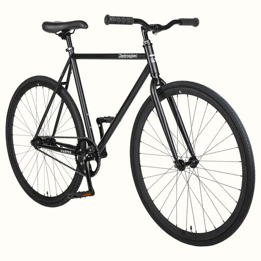 2021 Retrospec Harper Coaster Complete bike Matte Black