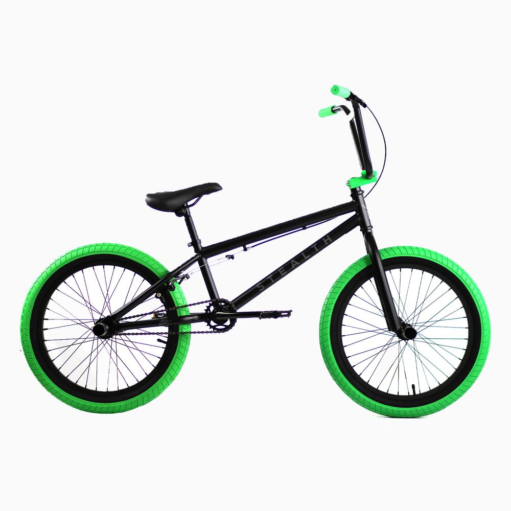 2021 Elite BMX Stealth Black Green