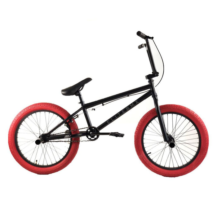 2021 Elite BMX Stealth Black and Red