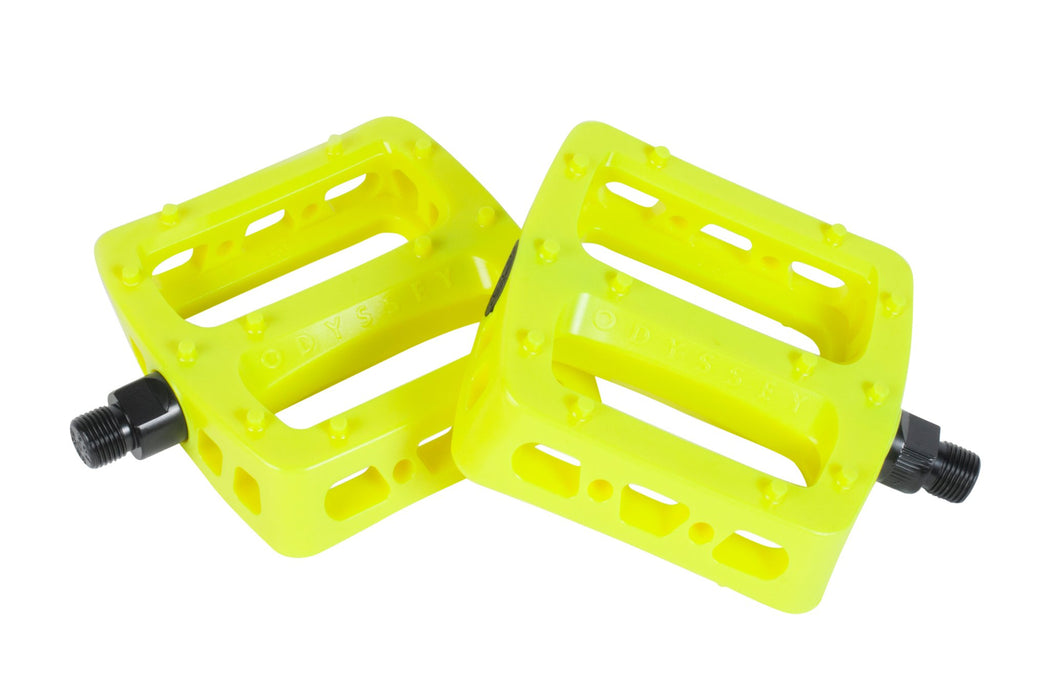 Odyssey Twisted PC Pro pedal Fluoresent Yellow