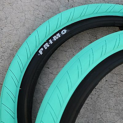 Primo: Stevie Churchill signature tire Tiffany Blue/Teal