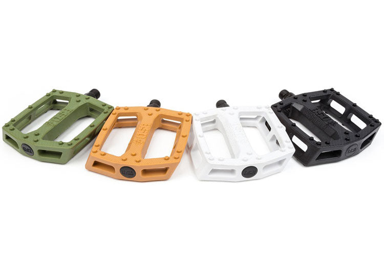 Reed Stark signature BSD Safari pc pedals White