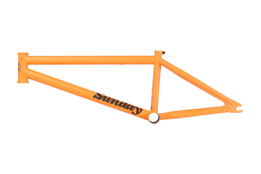 Sunday Jake Seeley signature street sweeper frame Matte Orange Whip